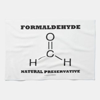 Formaldehyde Natural Preservative (Molecule) Hand Towel