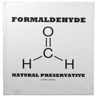 Formaldehyde Natural Preservative (Molecule) Printed Napkins