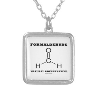 Formaldehyde Natural Preservative Molecule Pendant