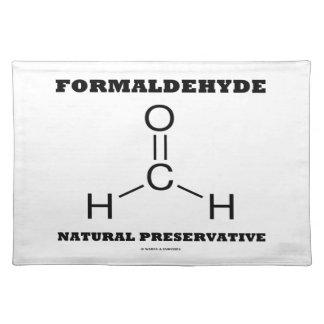 Formaldehyde Natural Preservative (Molecule) Place Mats