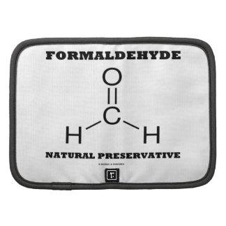 Formaldehyde Natural Preservative (Molecule) Folio Planners