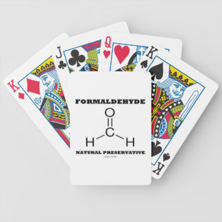 Formaldehyde Natural Preservative (Molecule) Card Decks