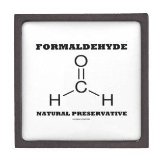 Formaldehyde Natural Preservative (Molecule) Premium Gift Box