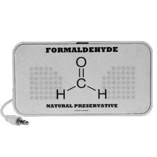 Formaldehyde Natural Preservative (Molecule) Laptop Speakers
