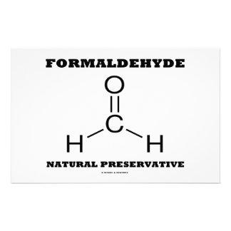Formaldehyde Natural Preservative (Molecule) Stationery