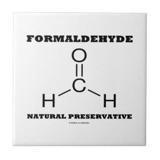 Formaldehyde Natural Preservative (Molecule) Ceramic Tile