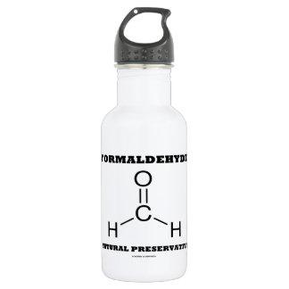 Formaldehyde Natural Preservative (Molecule) Water Bottle