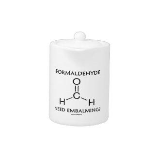 Formaldehyde Need Embalming? (Chemistry Molecule)