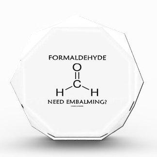 Formaldehyde Need Embalming? (Chemistry Molecule) Award