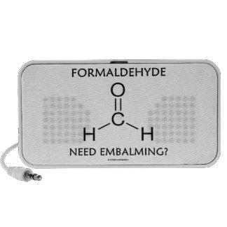 Formaldehyde Need Embalming? (Chemistry Molecule) Speaker System