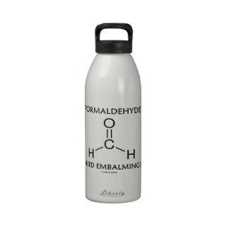 Formaldehyde Need Embalming? (Chemistry Molecule) Water Bottles