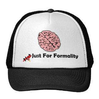 Formality Brain Hats