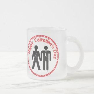 formally boyfriends 10 oz frosted glass coffee mug