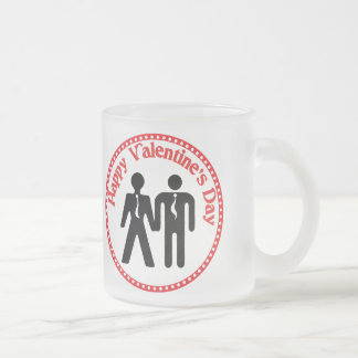 formally boyfriends frosted glass coffee mug