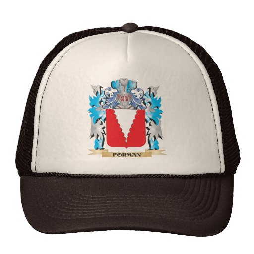 Forman Coat of Arms - Family Crest Mesh Hat