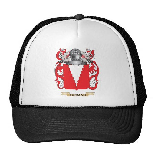 Forman Coat of Arms Hat