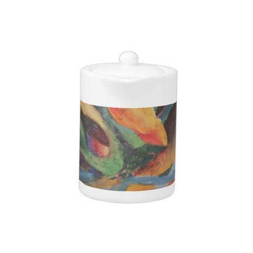 Formas abstractas coloridas en espacio