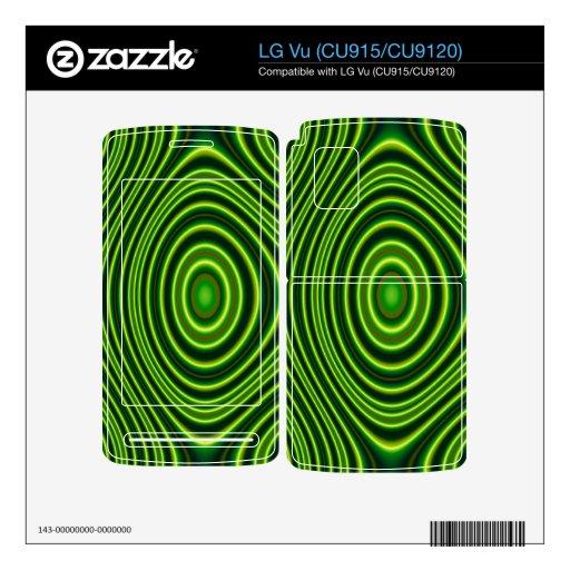 Formas abstractas coloridas calcomanía para el LG vu