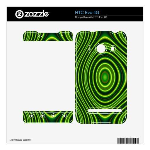 Formas abstractas coloridas skin para el HTC evo 4G