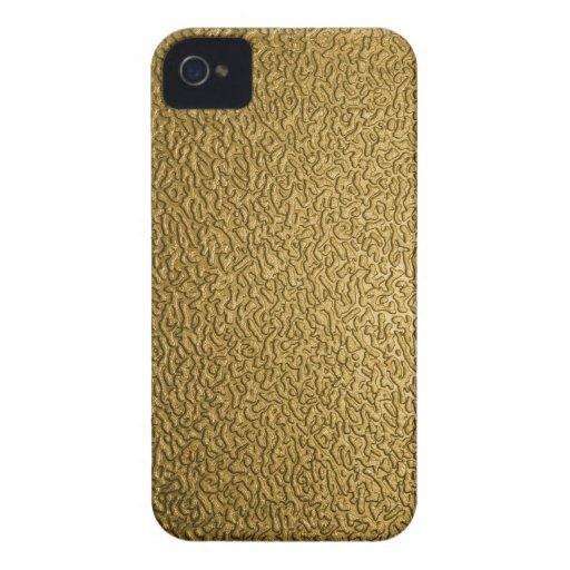 Formas abstractas de oro iPhone 4 Case-Mate carcasa