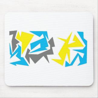 Formas abstractas alfombrilla de ratón