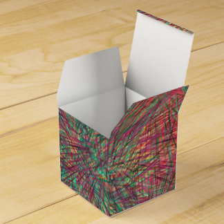 Formas al azar extrañas caja para regalos de fiestas
