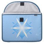 Formas azules del diamante en Macbook favorable 15 Funda Para Macbooks