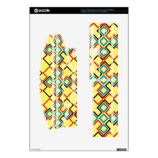 Formas conectadas del Rhombus Skin Para laConsola PS3