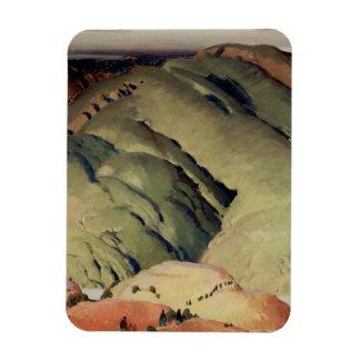 Formas de la montaña iman rectangular