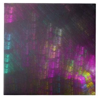 Formas del pensamiento - bambú espectral azulejos