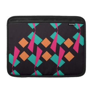 Formas en colores retros fundas macbook air
