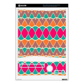Formas en modelo retro de los colores consola xbox 360 s skin