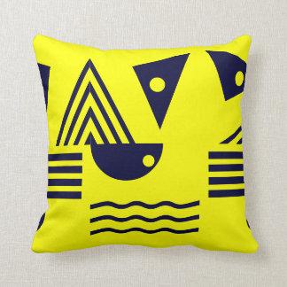Formas geométricas almohadas