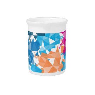 Formas geométricas coloridas 3D Jarrones