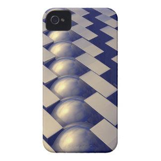 Formas geométricas del oro iPhone 4 fundas