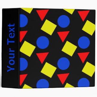 """Formas geométricas en colores primarios carpeta 2"""""""