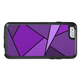 Formas geométricas púrpuras abstractas funda otterbox para iPhone 6/6s