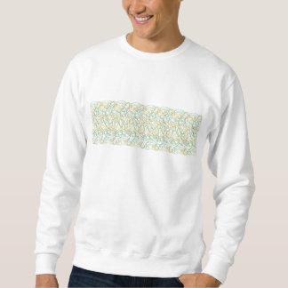 Formas orgánicas con el fondo blanco suéter
