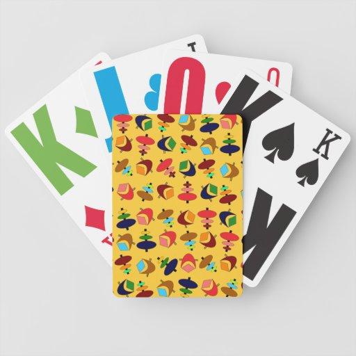 Formas retras adaptables barajas de cartas
