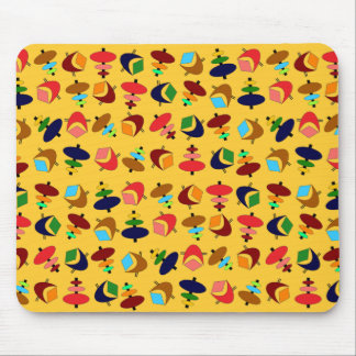 Formas retras adaptables mouse pads