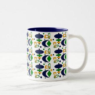 Formas retras taza de café