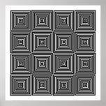 Formas simétricas de Op. Sys. 10 del arte solament Impresiones