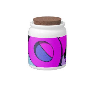 Formas y colores jarras para caramelos