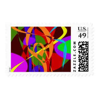 Formas y líneas abstractas irregulares