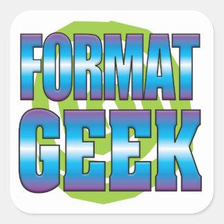 Format Geek v3 Square Sticker