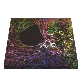 formation, existence, destruction, emptiness canvas print