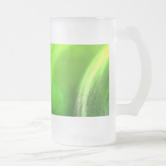Formations Frosted Glass Beer Mug