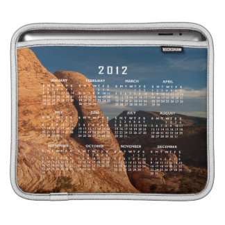 Formations in Red Rock 2012 Calendar Sleeve For iPads