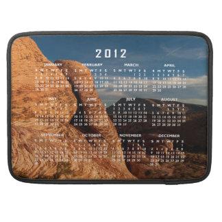 Formations in Red Rock 2012 Calendar MacBook Pro Sleeves