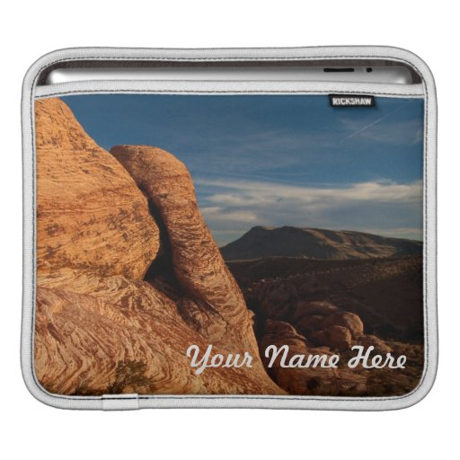 Formations in Red Rock; Customizable iPad Sleeve